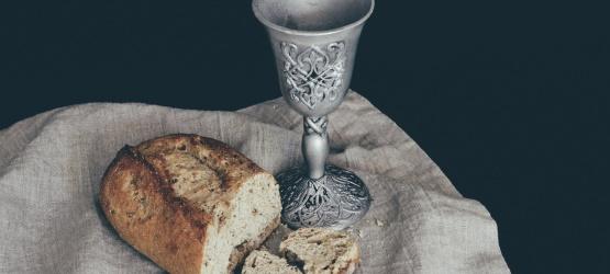 Partilhou do pão e vinho com o traidor